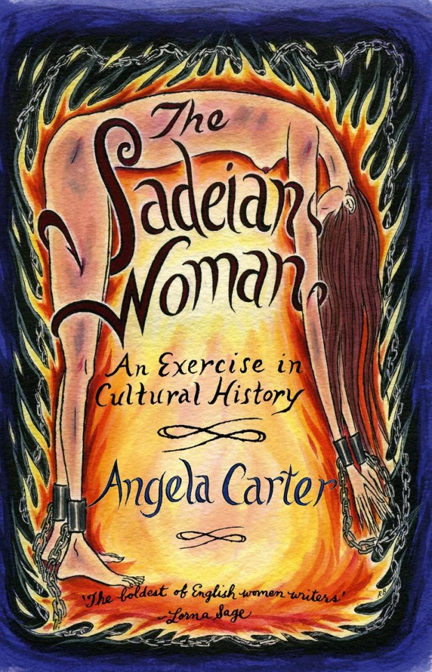 book cover: The Sadeian Woman