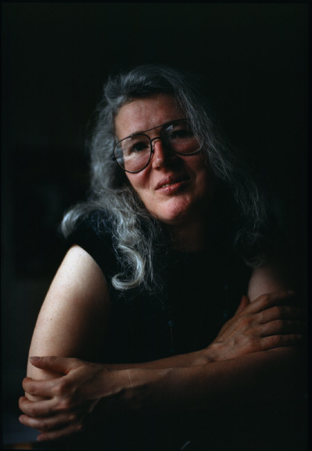 Angela Carter © Eve Arnold/Magnum Photos