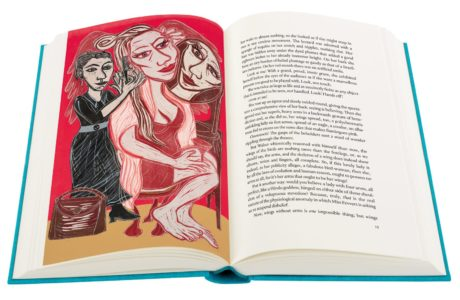 Eileen Cooper on illustrating Angela Carter